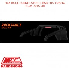 PIAK ROCK RUNNER SPORTS BAR FITS TOYOTA HILUX 2015-ON